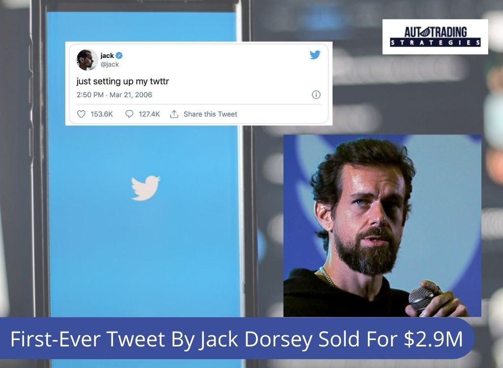 First-Ever Tweet By Jack Dorsey Sold For $2.9M