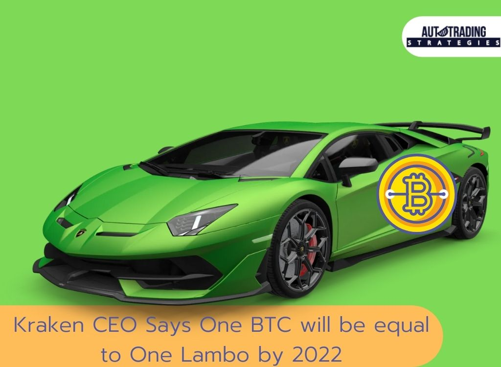 Kraken CEO Says One BTC will be equal to One Lambo by 2022