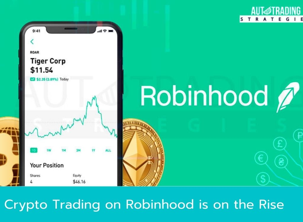 Crypto Trading on Robinhood is on the Rise