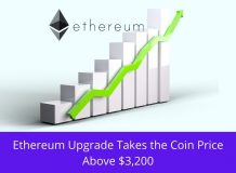 Ethereum Upgrade Takes the Coin Price Above $3,200