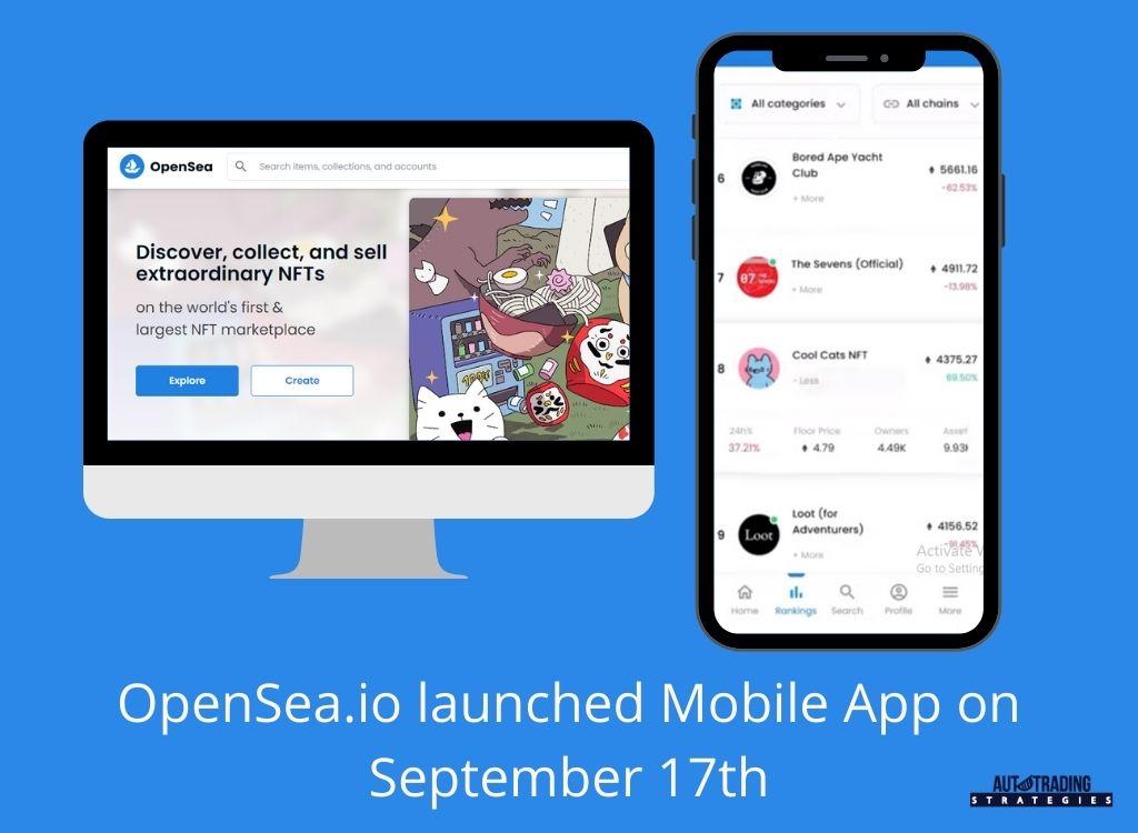 OpenSea Mobile App