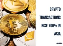 Crypto Transactions Increase 706% in Asia<