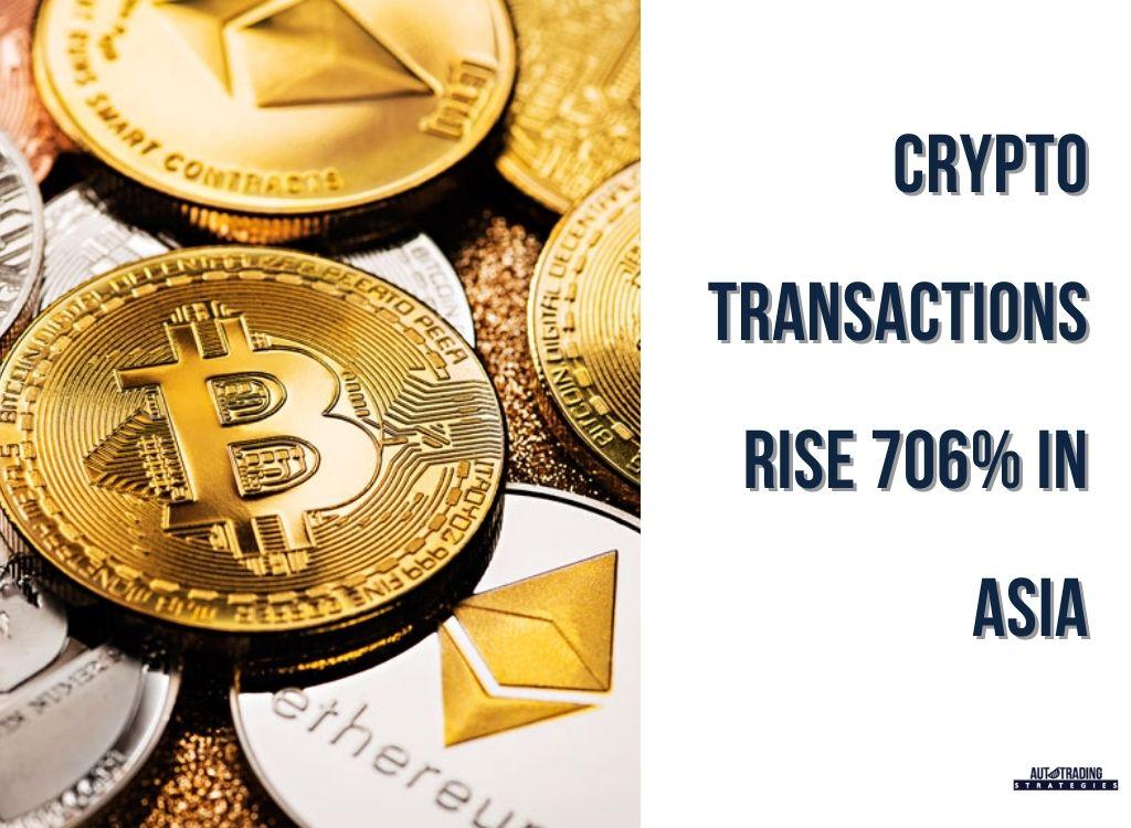 Crypto Transactions Increase
